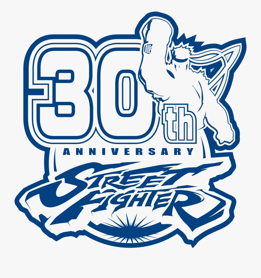 Transparent Street Fighter V Logo Png Street Fighter 30th
