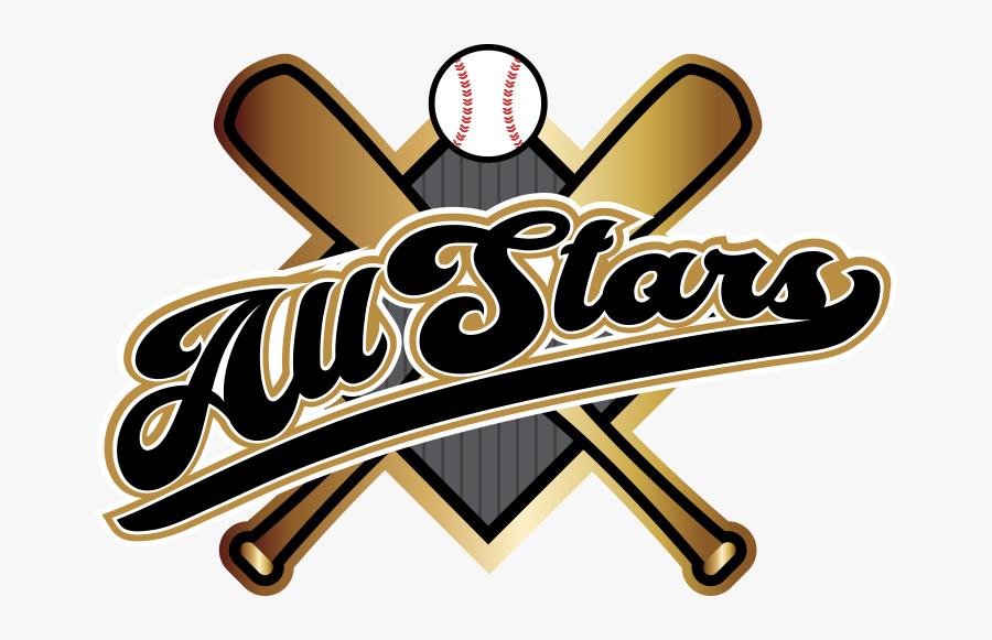 Baseball All Stars Logo, Transparent Clipart
