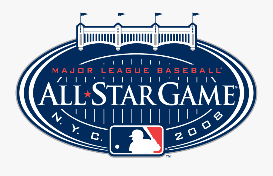 Transparent Yankee Baseball Clipart - Mlb All Star Game, Transparent Clipart
