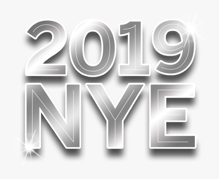 Transparent New Years Eve Png - New Year's Eve 2019 Logo, Transparent Clipart