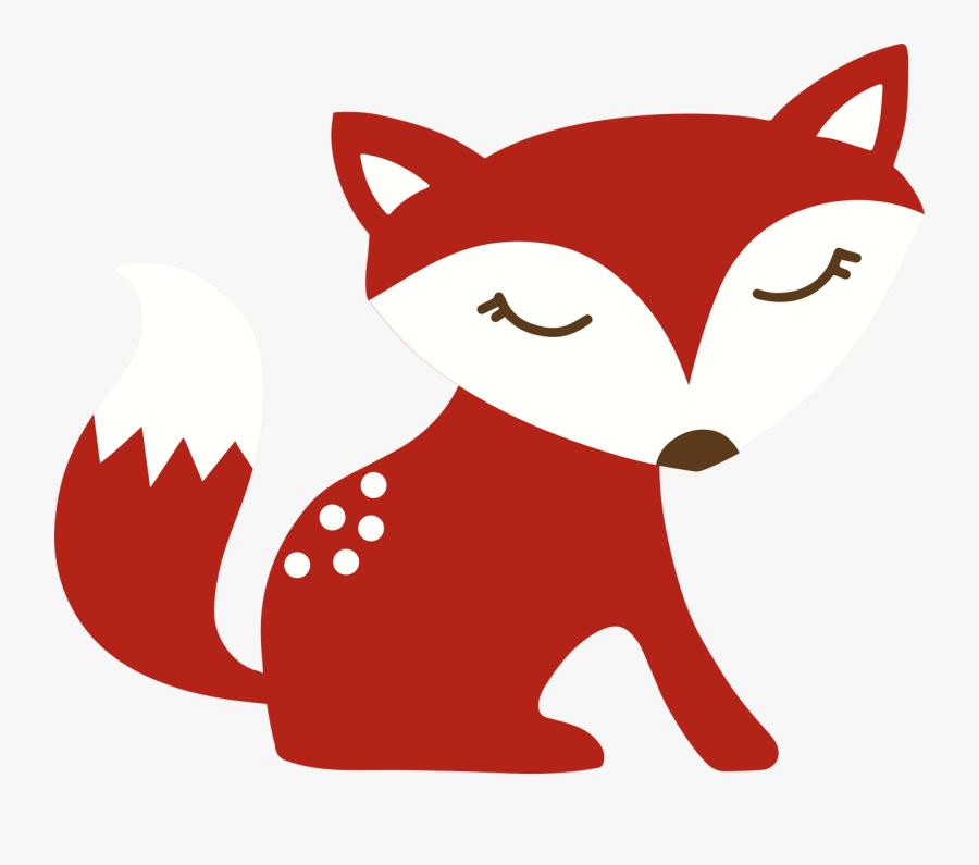 Autumn Fox Svg Cut File - Autumn Fox Cartoon, Transparent Clipart