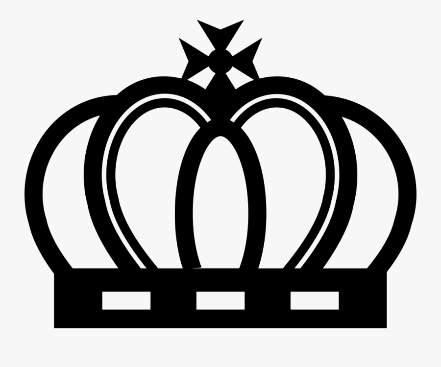 Royal Crown Of Elegant Vintage Design - Crown Royal Queen Logo, Transparent Clipart