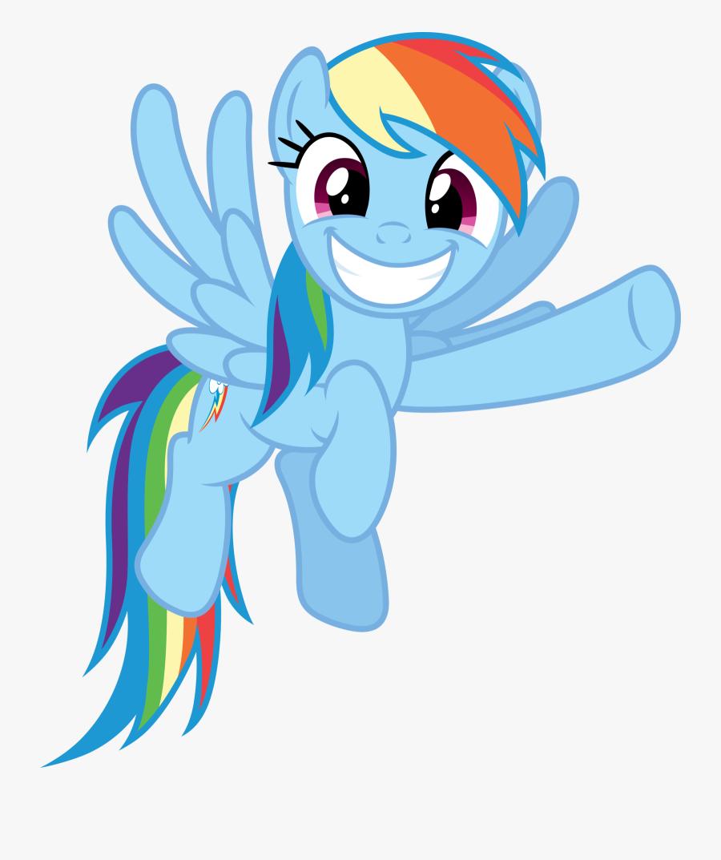 Rainbow Dash Rarity Pinkie Pie Twilight Sparkle Fluttershy - My Little Pony Pointing, Transparent Clipart