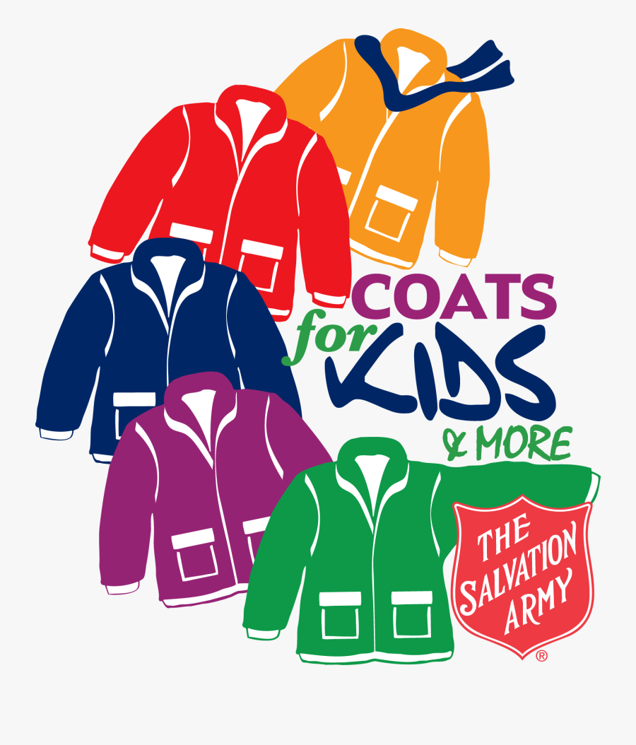 Coats For Kids Salvation Army, Transparent Clipart