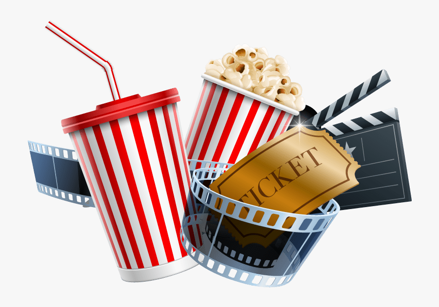 Transparent Movie Night Png, Transparent Clipart
