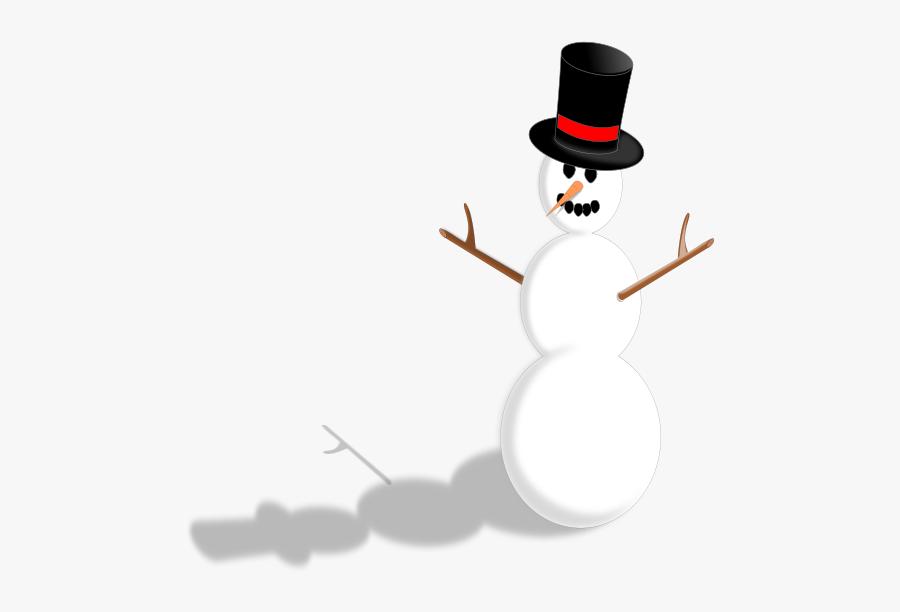 Holidays - Snowman Stock, Transparent Clipart