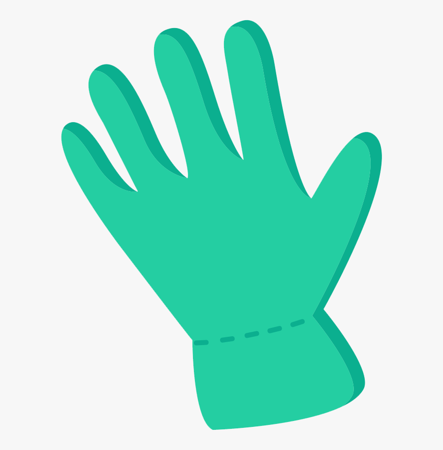 Drawing Glove Cartoon Safety - Cartoon Picture Of Glove, Transparent Clipart
