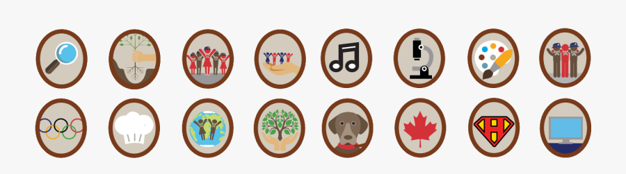 Every Time A Beaver Scout Would Like To Work Towards - Scouts Canada Beaver Scout Badges, Transparent Clipart