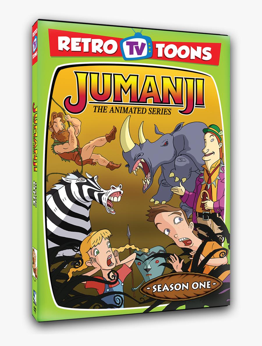 Jumanji The Animated Series Dvd, Transparent Clipart