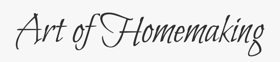 The Art Of Homemaking - Calligraphy, Transparent Clipart