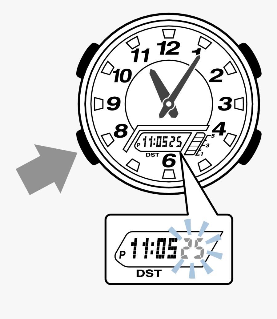 5208 Flow A 4-3 - Time, Transparent Clipart