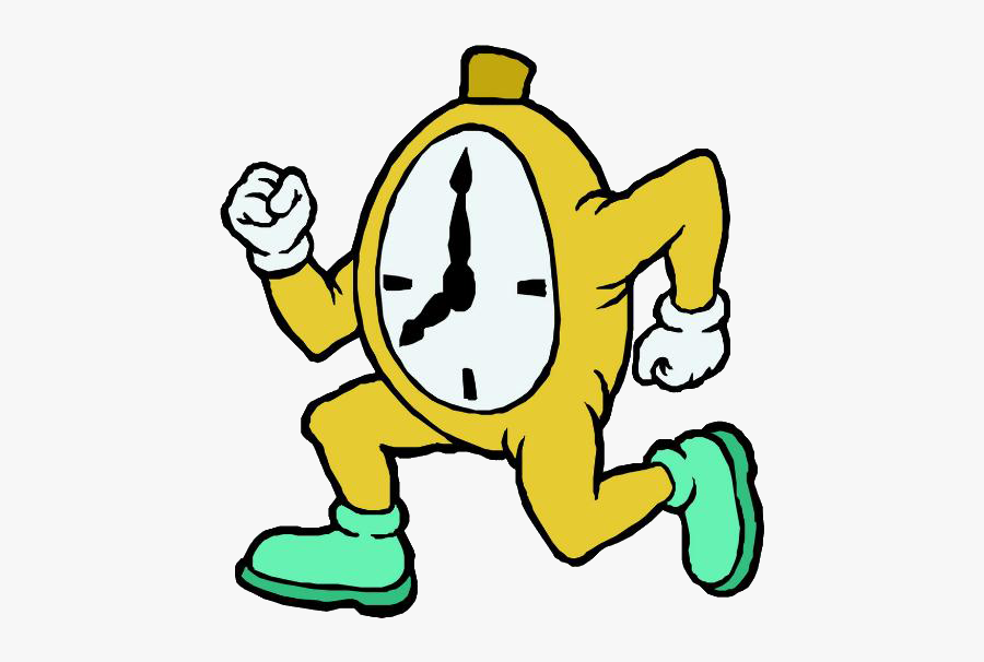 Time Running Hourglass Clip - Running Clock Clipart, Transparent Clipart