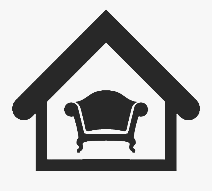 Furniture Clipart Home Decor - Home Decor Icon Png, Transparent Clipart