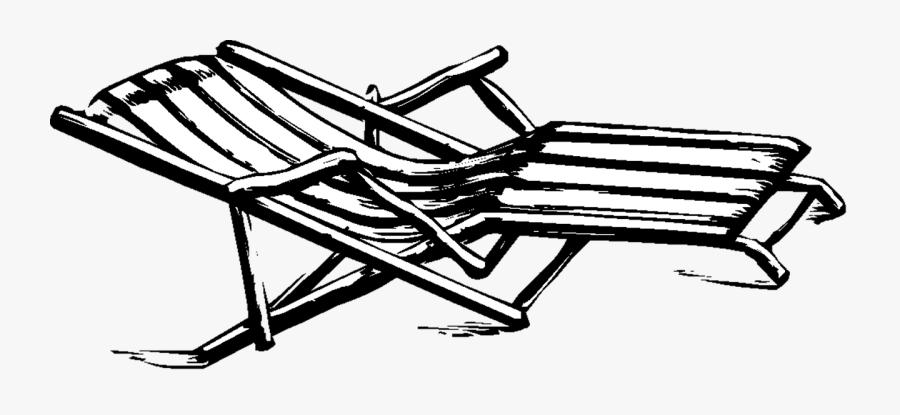 Home Decor Deck Chair - Furniture, Transparent Clipart