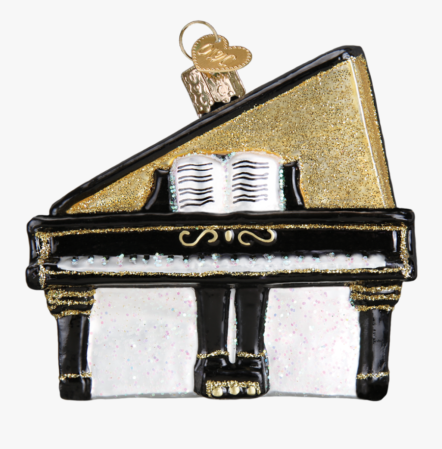 Christmas Music Ornaments, Transparent Clipart