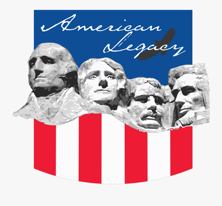 Clipart - Mount Rushmore, Transparent Clipart