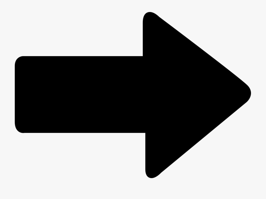 Hd Direction Comments Going - Arrow Pointing Right, Transparent Clipart