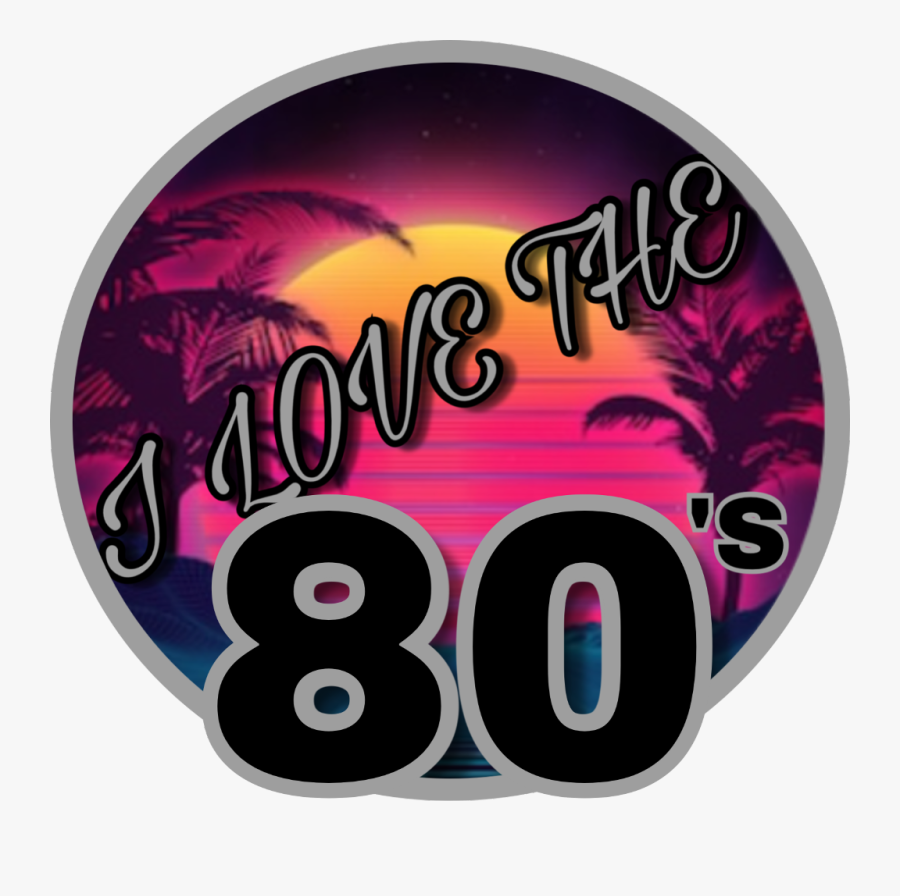 "#80s #80""s #1980s #ilovethe80s #freetoedit - 80's Retro Background, Transparent Clipart"
