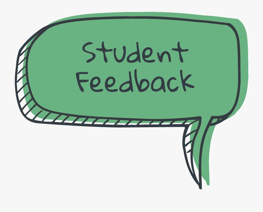 Feedback Clipart Student Feedback - Speech Balloon Speech Bubble Png, Transparent Clipart