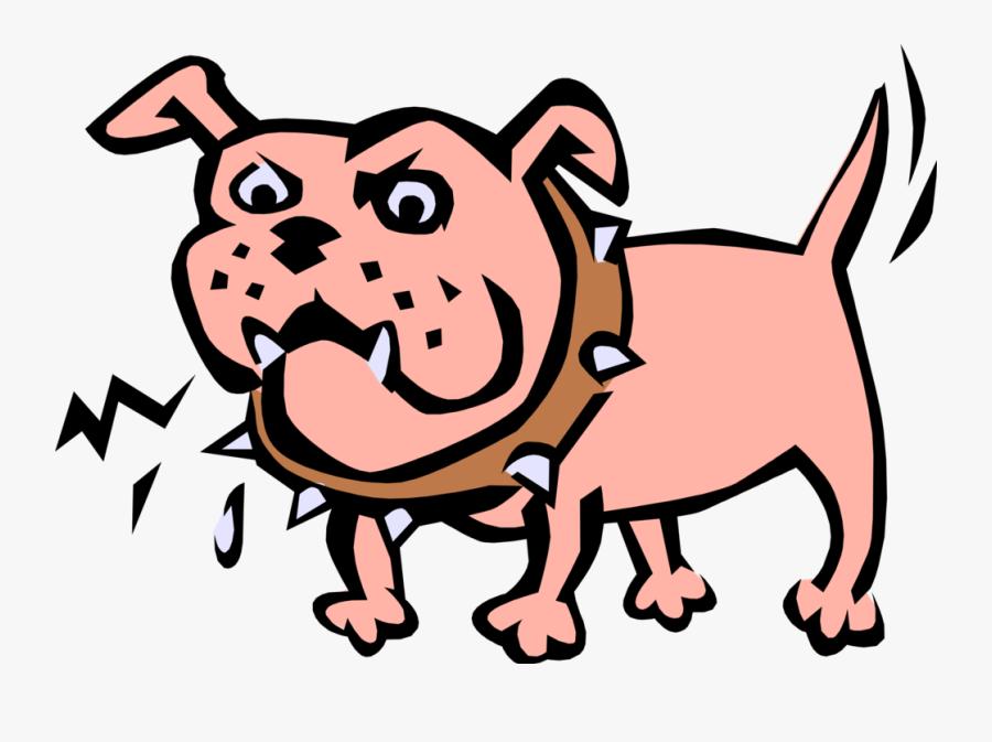 Junkyard Shows Mettle Image Illustration Of His - Cartoon Junk Yard Dog, Transparent Clipart