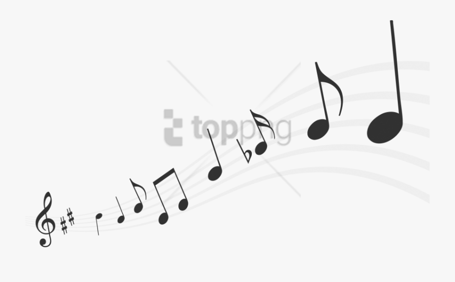 Free Music Png Images - Transparent Background Musical Notes Png, Transparent Clipart