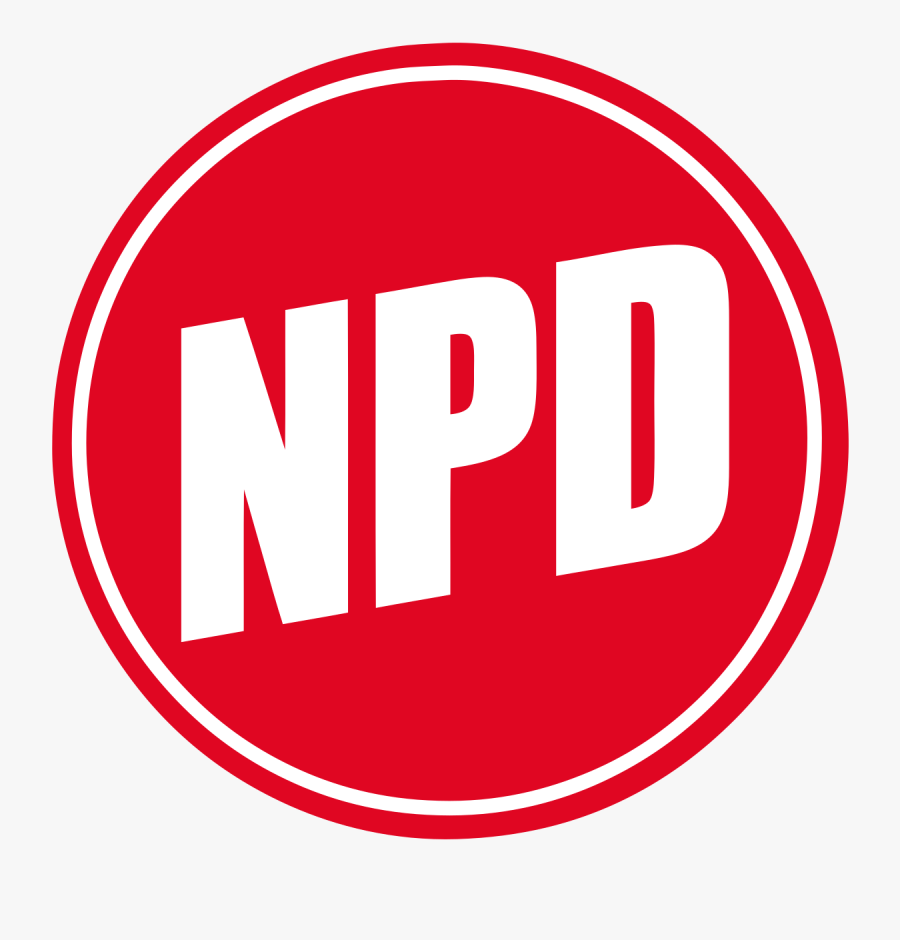 National Democratic Party Of Germany, Transparent Clipart