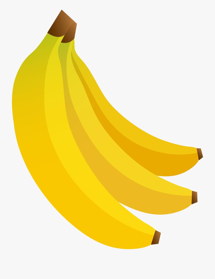 Clipart Of Bunch, Ripe And Banana - Saba Banana, Transparent Clipart
