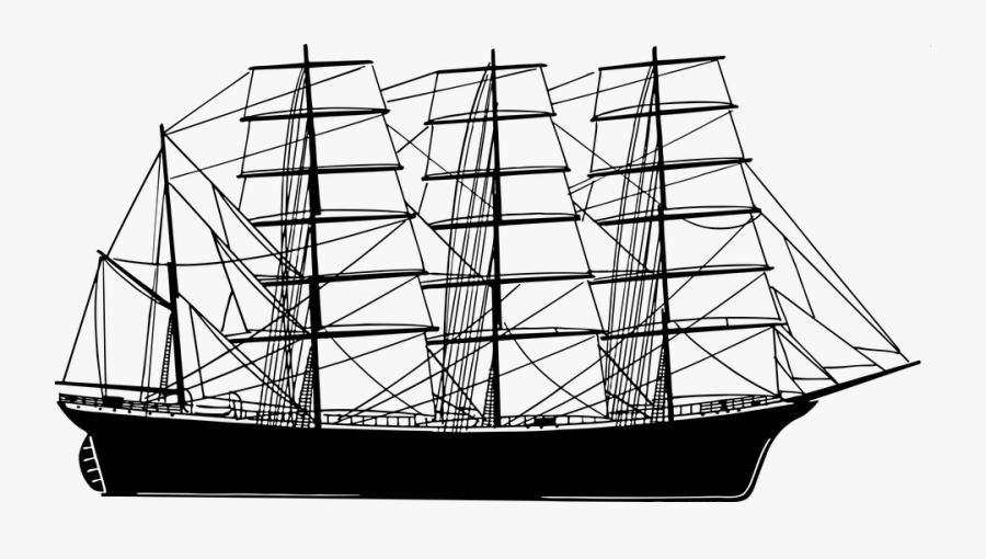 Sailing Drawing At Getdrawings - Transparent Sailing Ship, Transparent Clipart
