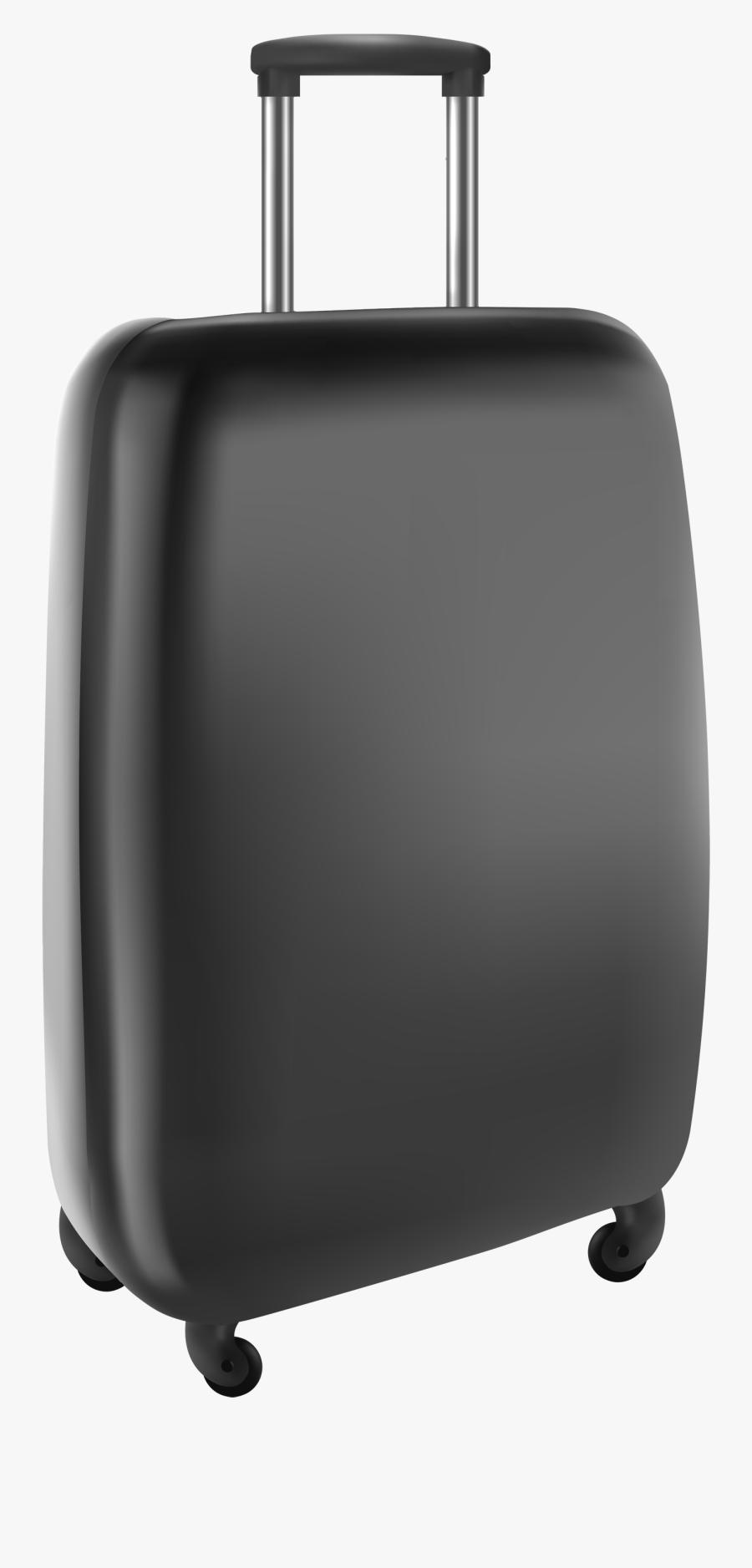 Download Black Travel Bagpicture Clipart Png Photo - Rolling Laptop Bag, Transparent Clipart