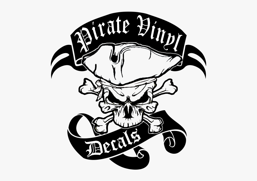 Jeep Clipart Vinyl Decal - Pirate Decal, Transparent Clipart