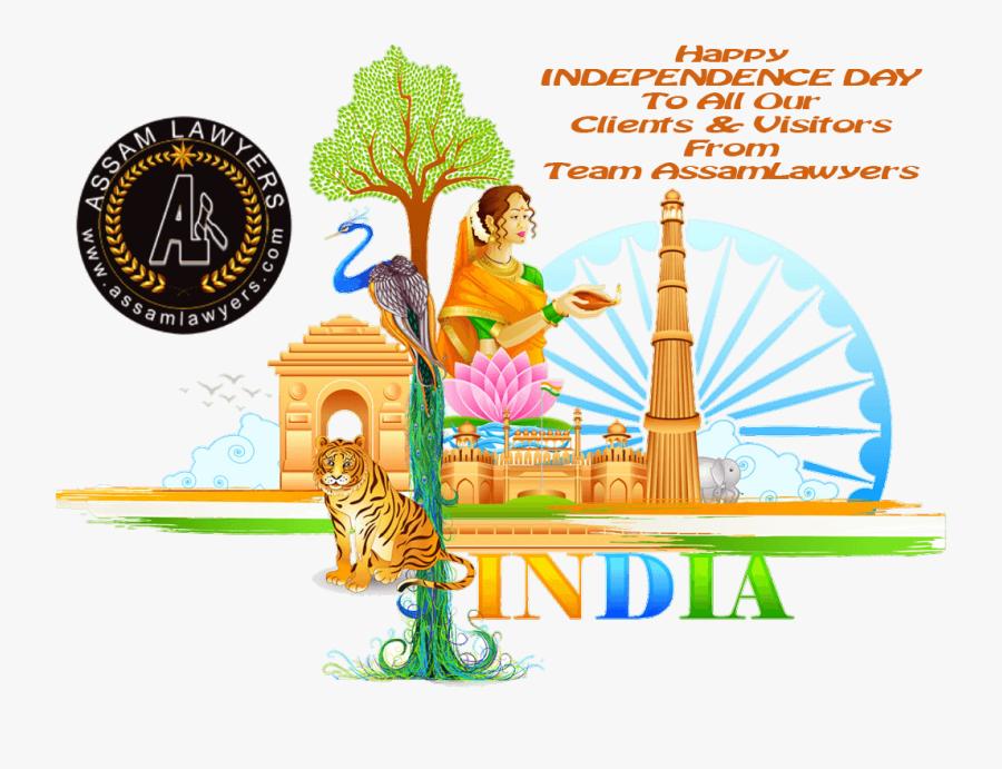 Independence Day Cartoon Png , Transparent Cartoons - Independence Day India Png, Transparent Clipart