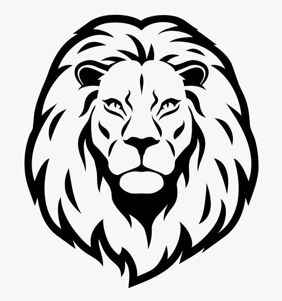 Lionhead Rabbit Drawing Clip Art - Easy Lion Tattoo Drawing, Transparent Clipart