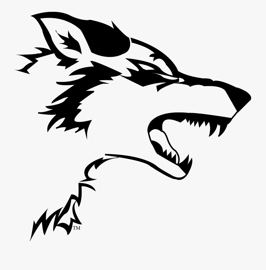 Wolves Clipart Black And White - Transparent Wolf Png Logo, Transparent Clipart