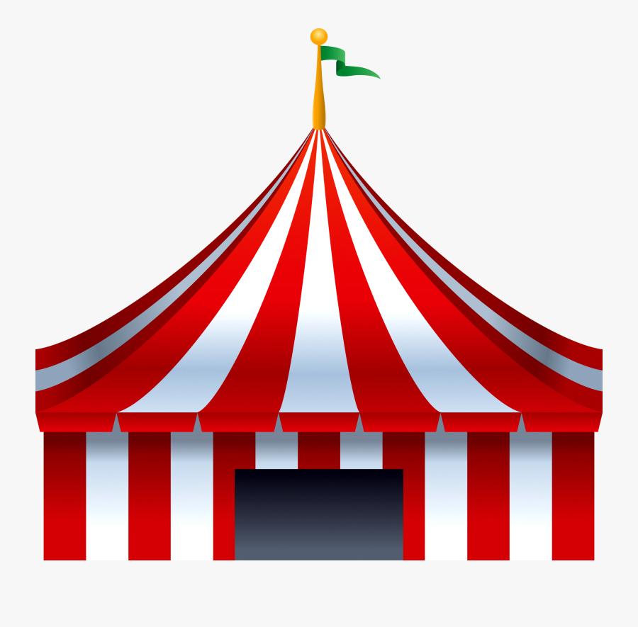 Clip Art Tent Transprent - Circus Tent Png, Transparent Clipart