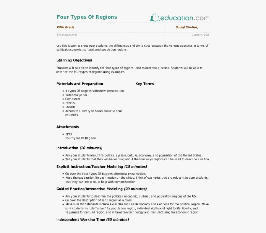 Clip Art Four Components Of Blood - 5th Grade Social Studies Lesson Plans, Transparent Clipart