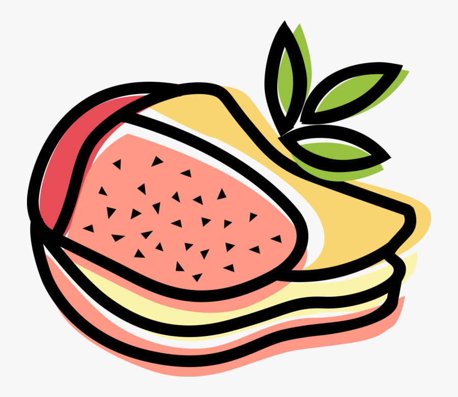Vector Illustration Of Sandwich Sliced Cheese Or Meat, Transparent Clipart