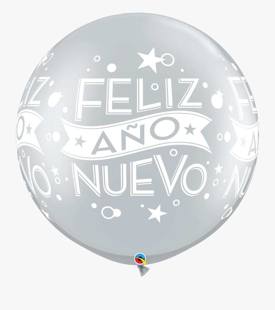 Transparent Feliz Año Nuevo Png - Balloon, Transparent Clipart