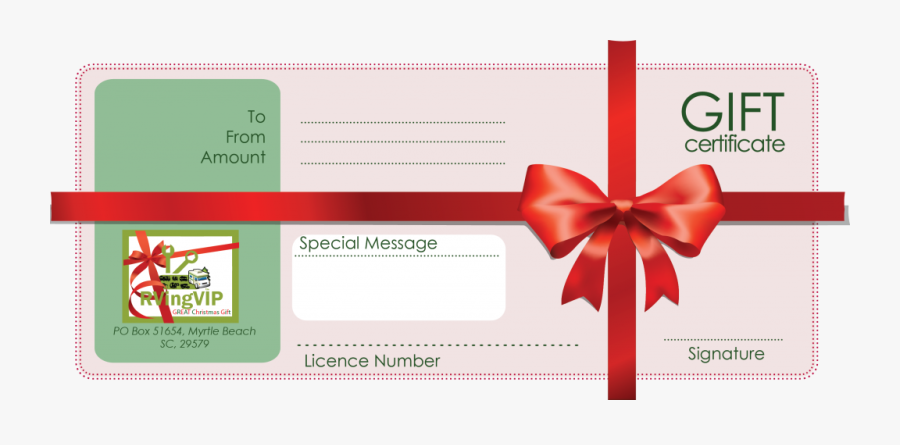 Clip Art Voucher Transprent Png - Gift Certificate Template Photoshop, Transparent Clipart