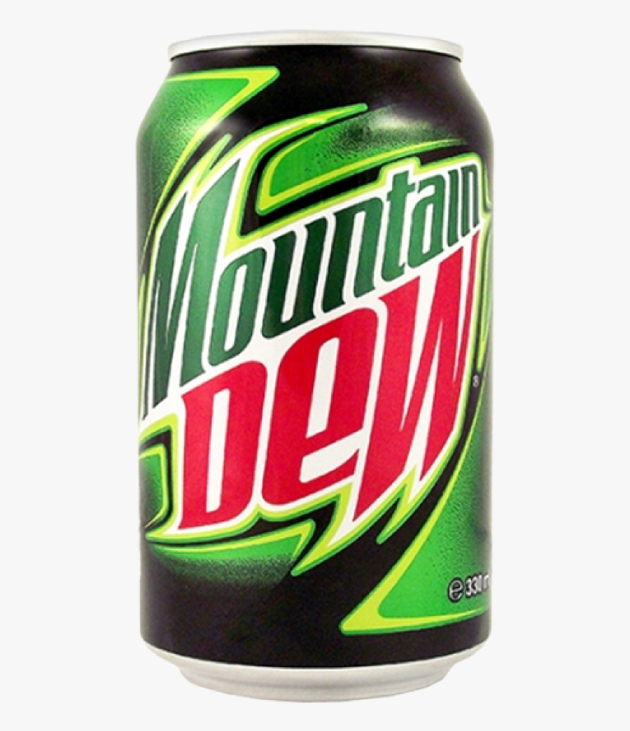 Mountain Dew Can Png, Transparent Clipart
