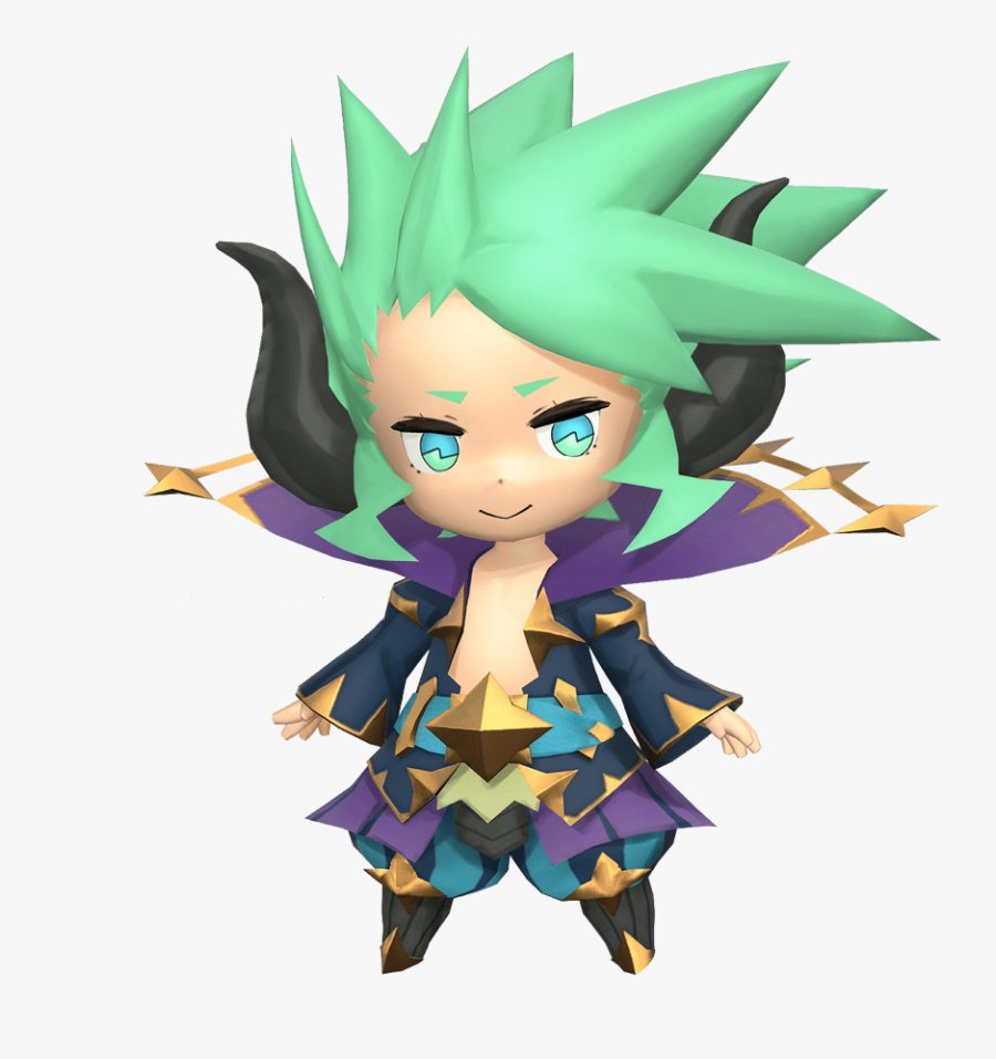 Chibi Characters, Fantasy Characters, Myths & Monsters, - Ramuh World Of Final Fantasy, Transparent Clipart