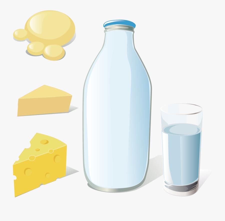 Transparent Milk Bottle Png, Transparent Clipart