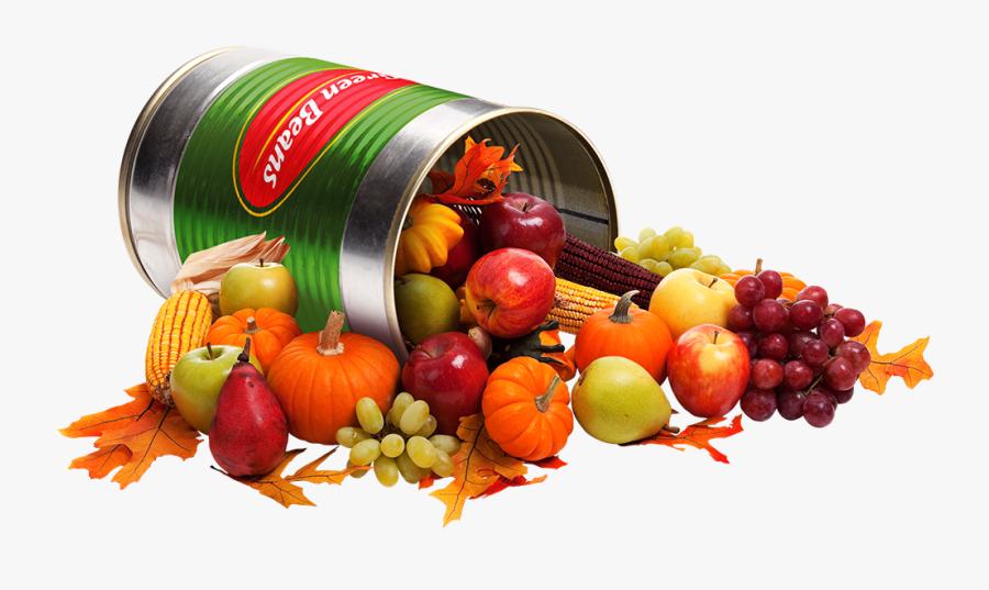 Thanksgiving Cornucopia, Transparent Clipart