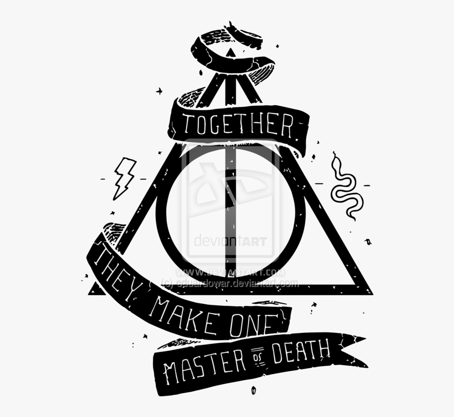And Alastor Deathly Hallows Dumbledore Potter Hogwarts - Harry Potter Deathly Hallows Png, Transparent Clipart