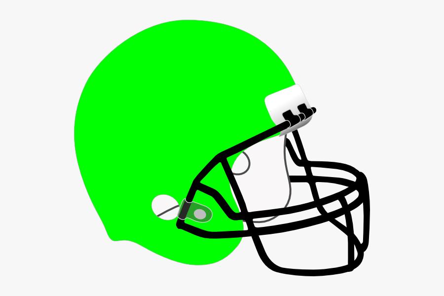 Football Clip Art At Clker Com Vector Ⓒ - Light Blue Football Helmet, Transparent Clipart