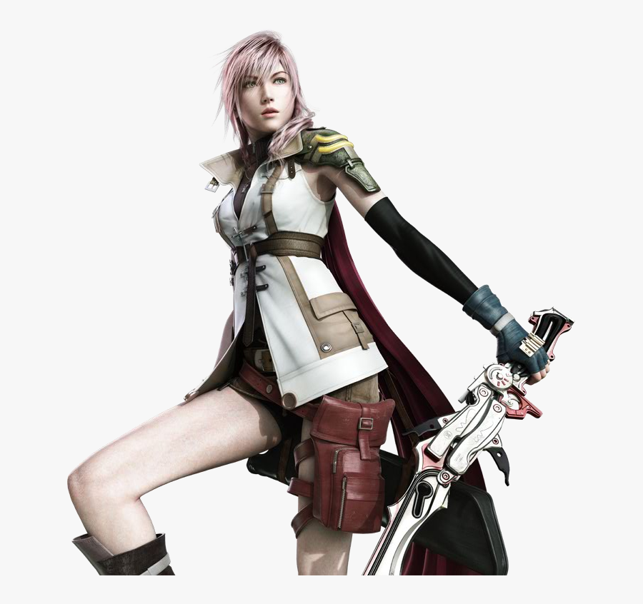 Final Fantasy Free Download Png - Final Fantasy Xiii Cover, Transparent Clipart