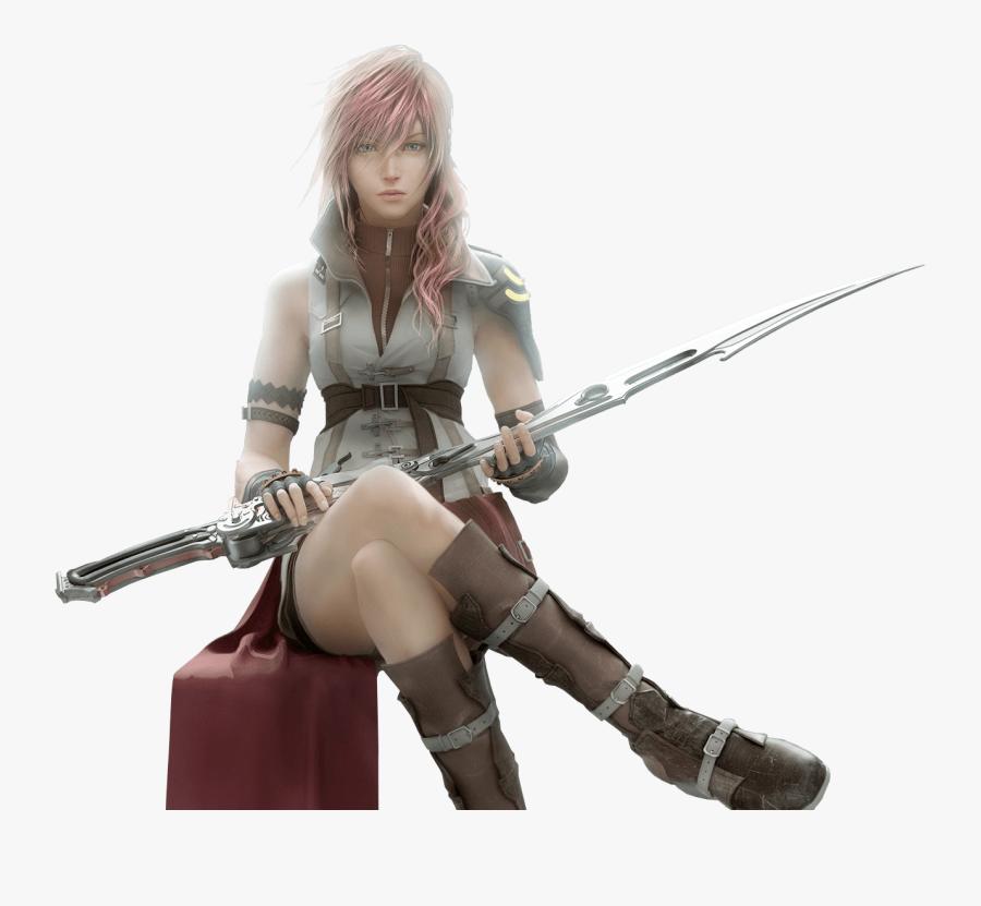 Final Fantasy Sitting - Transparent Final Fantasy Png, Transparent Clipart
