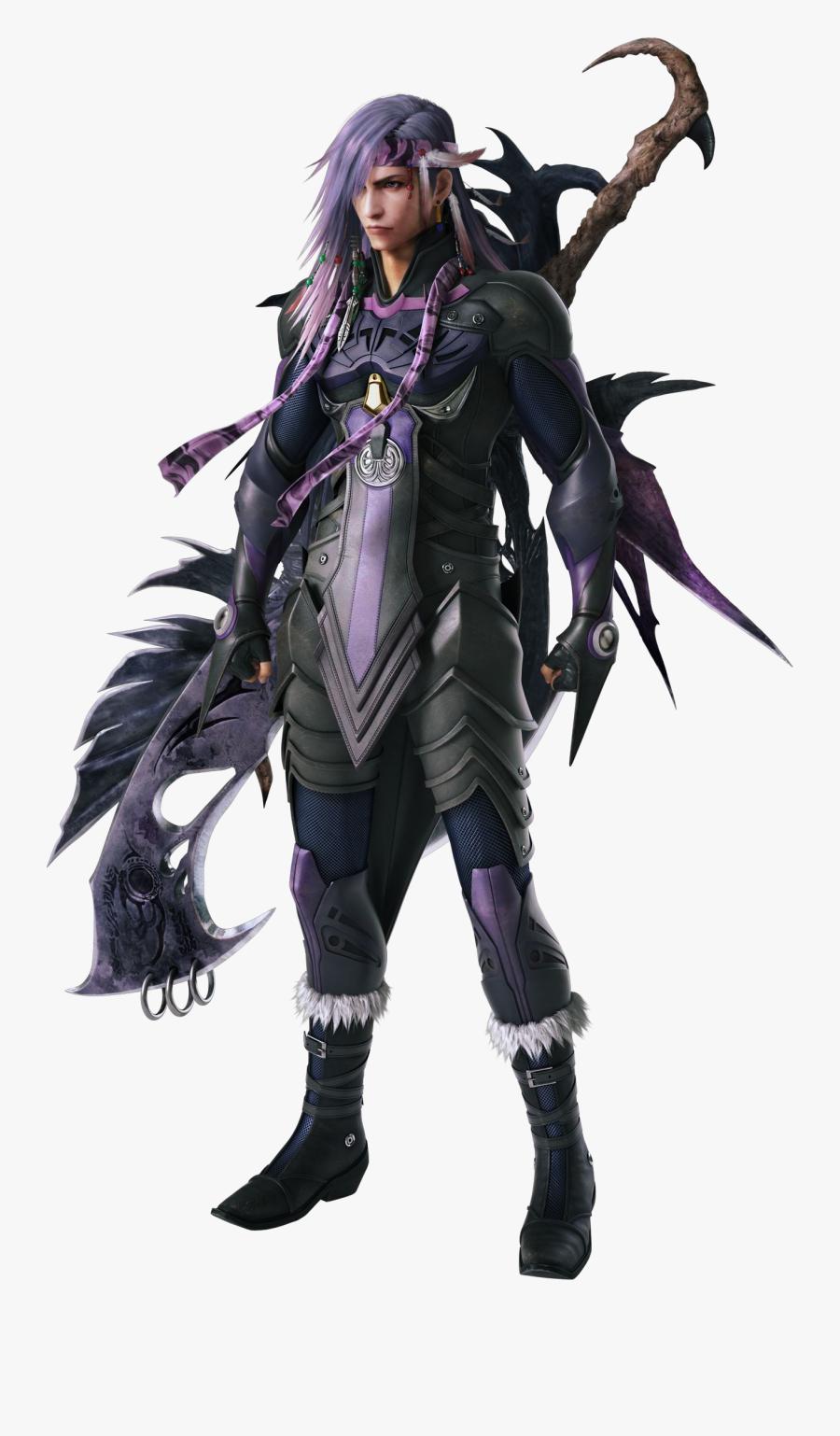 Caius Ballad - Final Fantasy Xiii 2 Caius, Transparent Clipart