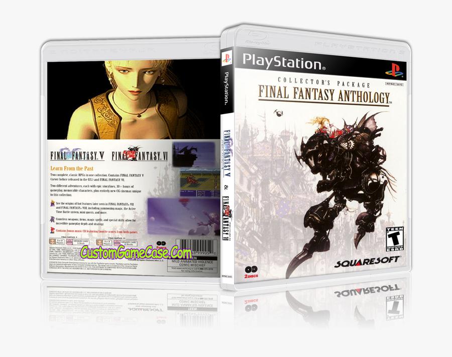 Ps1 Final Fantasy 5 Cover Png - Final Fantasy Anthology Final Fantasy Vi Usa V1 1, Transparent Clipart