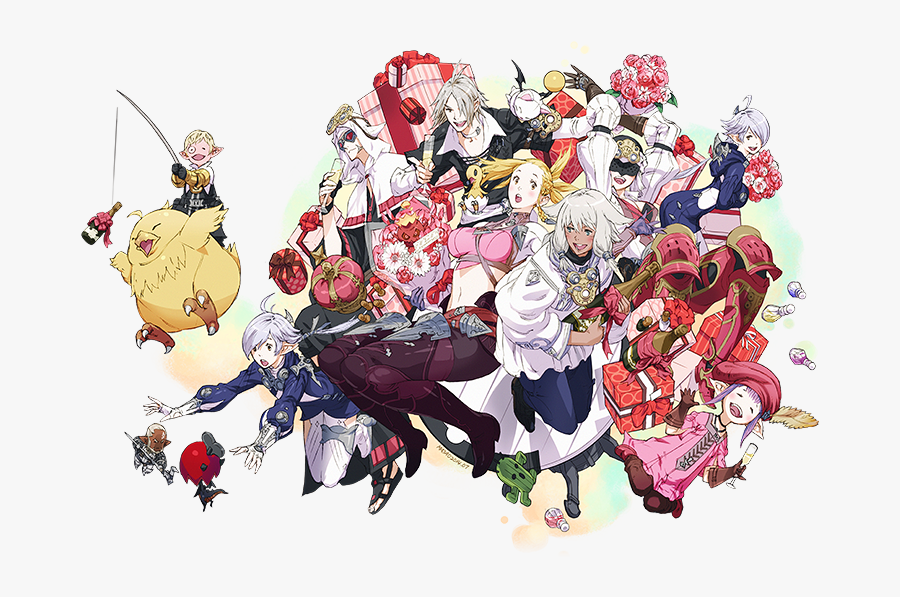 Characters Wiki Fandom Powered - Final Fantasy 14 Hd, Transparent Clipart