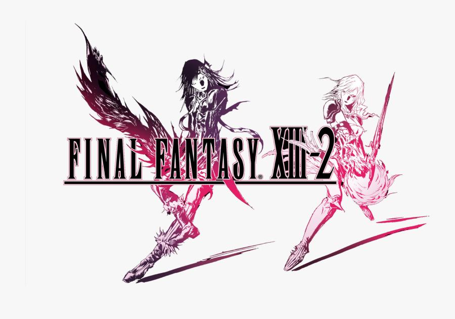 Transparent Final Fantasy Xiii Logo Png - Final Fantasy Xiii 2 Title, Transparent Clipart